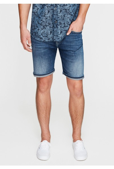 Mavi Erkek Brian Vintage Jean Şort