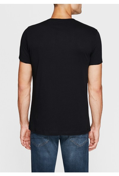 Mavi Siyah Basic Tişört 062772-26341