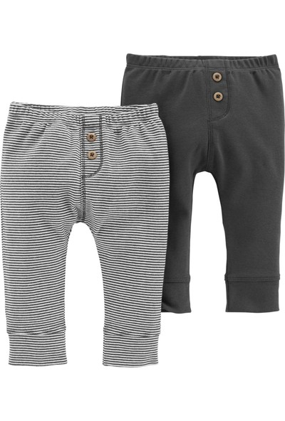 Carter's Layette Erkek Bebek 2'Li Pantolon 126H460