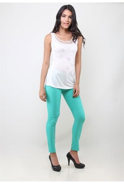 Dodona 2668 Tasarım Şık Kadın Pantolon