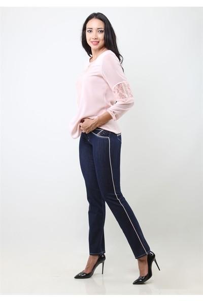 Dodona 3169 Navy Kadın Pantolon