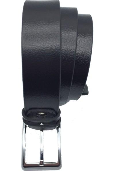 Spectrum Erkek Kemer Cüzdan Set - Karalı Marka Gerçek Deri Ürünler