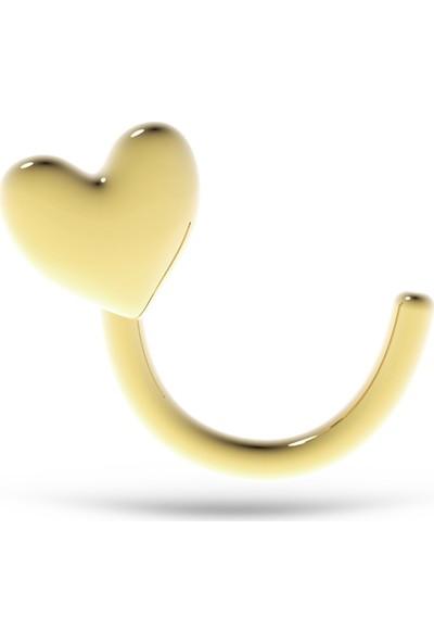 Goldstore 14 Ayar Altın Kalp Hızma Ghz42276