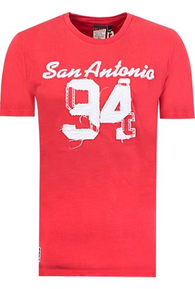 Blast Erkek T-Shirt Kırmızı Renk