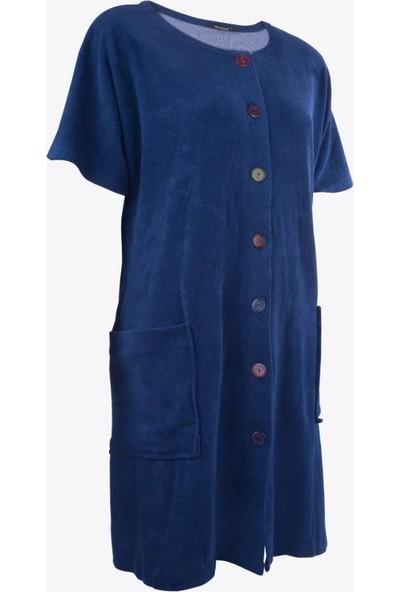 Ayyıldız 59515 Önden Düğmeli Havlu Elbise