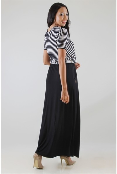 Dodona 2825 Elbise Siyah