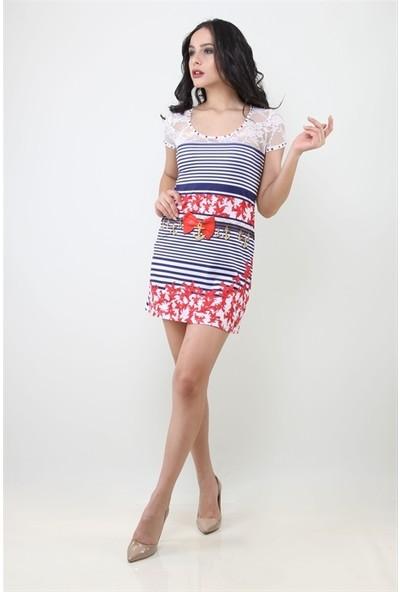 Dodona 1080 Marin Tasarım Elbise