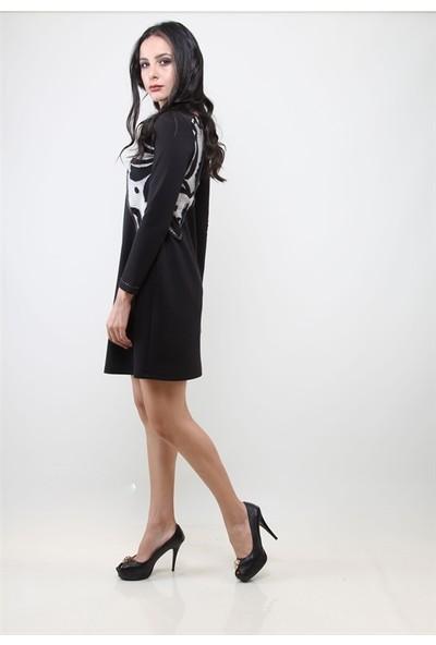 Dodona 3002 Siyah Elbise
