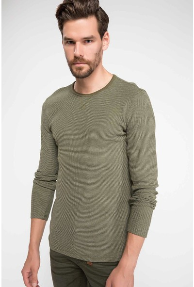Defacto G0177Az18 Kapitone Sweatshirt