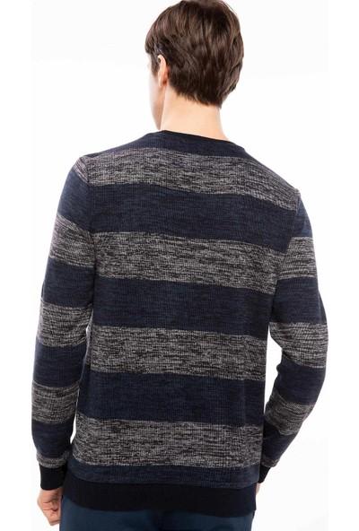 Defacto G1819Az18 Çizgili Sweatshirt