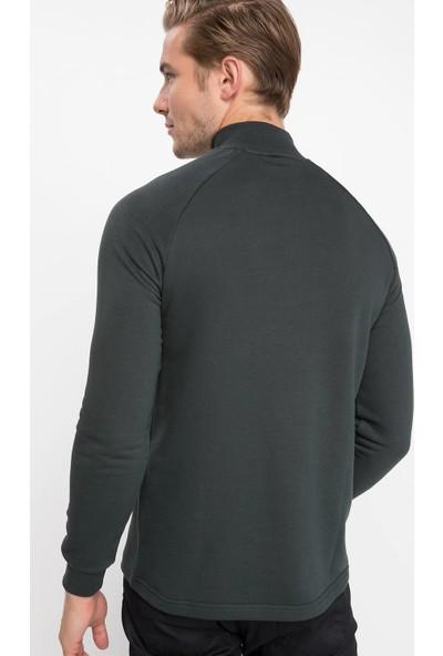 Defacto J6041Az18 Önden Fermuarlı Sweatshirt