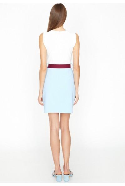 Koton Kadın Renk Bloklu Elbise