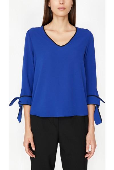 Koton Kadın Kol Detaylı Bluz