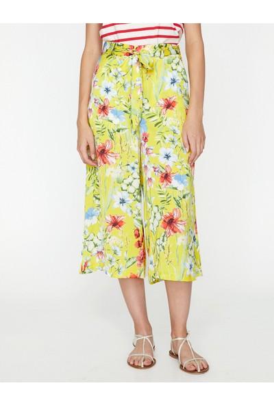 Koton Kadın Desenli Pantolon