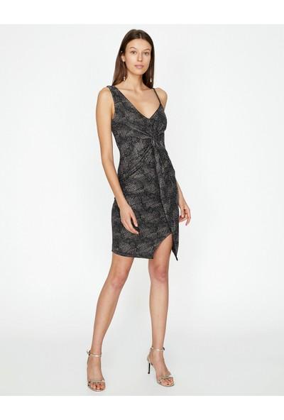Koton Kadın Desenli Elbise
