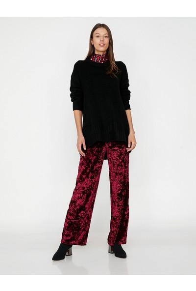 Koton Kadın Kadife Pantolon