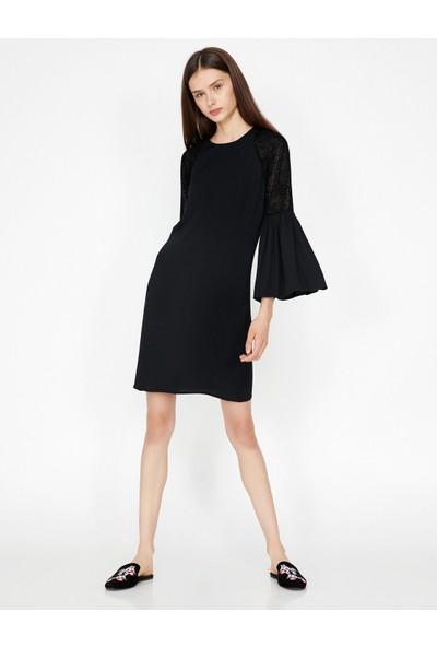 Koton Kadın Kol Detaylı Elbise