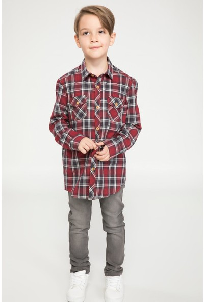 Defacto Erkek Çocuk Slim Fit Denim Pantolon