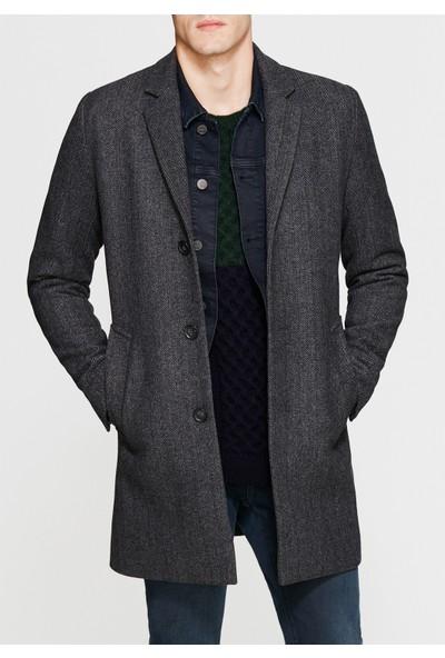Mavi Erkek Uzun Gri Ceket