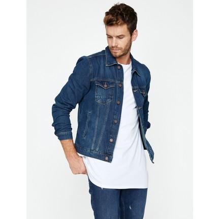 Koton Erkek Klasik Yaka Jean Ceket Fiyatı Taksit Seçenekleri