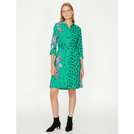 985c6b0e5e8ba Koton Kadın Desenli Elbise Fiyatı - Taksit Seçenekleri