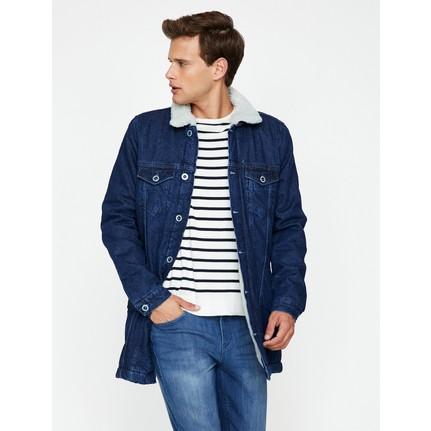 Koton Erkek Cep Detaylı Jean Ceket Fiyatı Taksit Seçenekleri