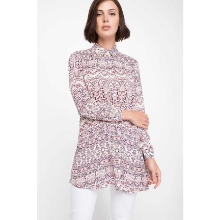 3c68ff330c1a3 Defacto Kadın Etnik Desenli Gömlek Tunik Fiyatı