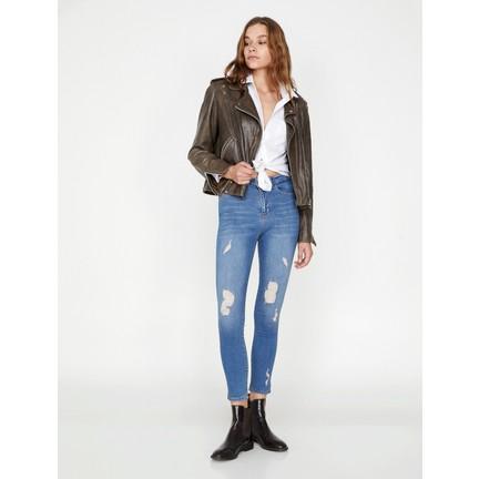 d301dc1b55d69 Koton Kadın Dar Kesim Jean Pantolon Fiyatı - Taksit Seçenekleri