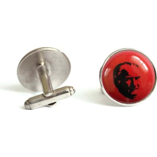 İlbay Çini Takı Kol Düğmesi Ds651
