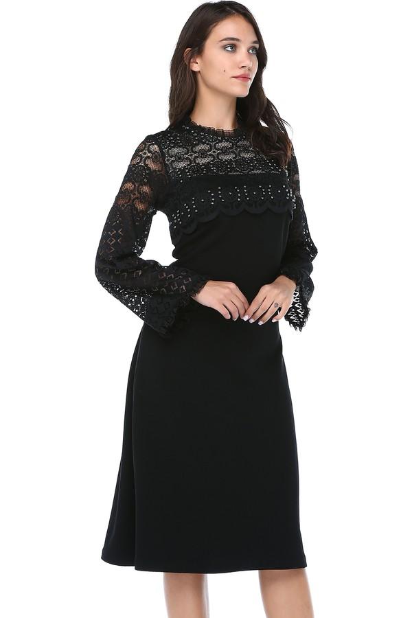 B&S Line Women's Laser Cutting Dress