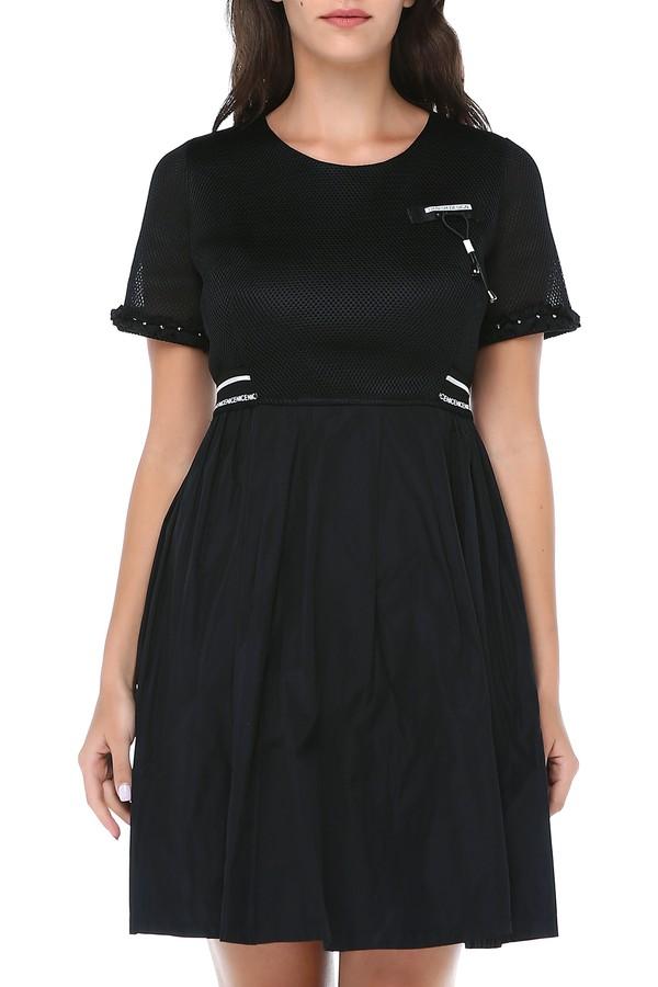 B&S Line Women's Solid Dress