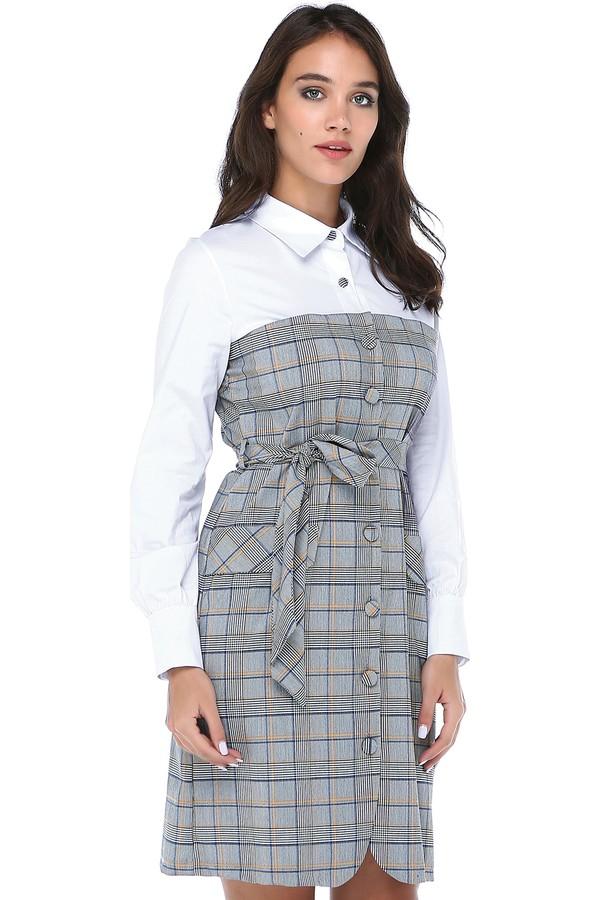 B&S Line Women's Plaid Dress
