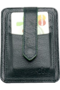 CLK Men's Genuine Leather Credit Card Wallet Clk 1.3