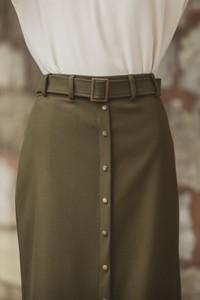 Abacı Women's Solid Skirt Etk11780-M24