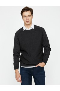 Koton Men's Solid Sweater