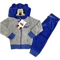 Disney Mickey Mouse Kadife Eşofman Takım %100 Disney Lisanslı - 5418