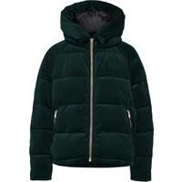 Only Yeşil Kadın Günlük Mont 15165710-Gg Onlnew Paula Oversized Velvet Jacket Otw