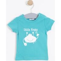 Soobe Erkek Bebek T-shirt Turkuaz