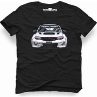 Tshirthane Subaru İmpreza Siyah Erkek T-Shirt