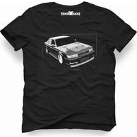 Tshirthane Nissan Laurel Siyah Erkek T-Shirt
