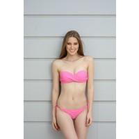 Spenza Swimwear Pastel Pembe Straplez Bikini Takım