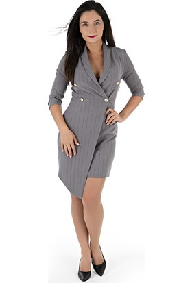 Ayhan Kadın Elbise 61093