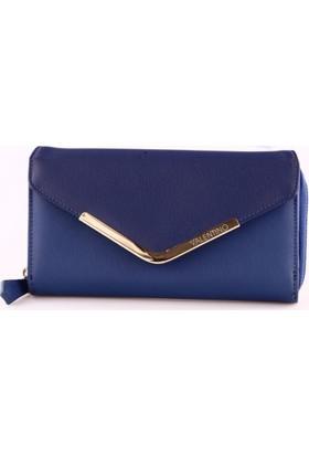 Valentino Vps0Y6156 Kadın Cüzdan Mavi