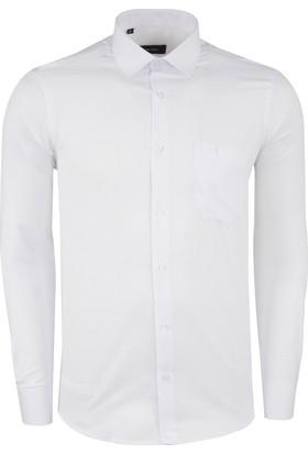 Sabri Özel Erkek Uzun Kollu Gömlek 4183009