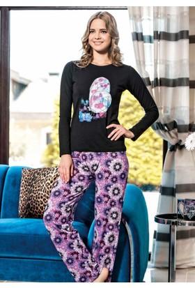 Maranda P1061 Uzun Kollu Kadın Pijama Takımı