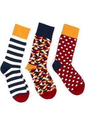 Pixter&Bro Üçlü Soket Çorap Set