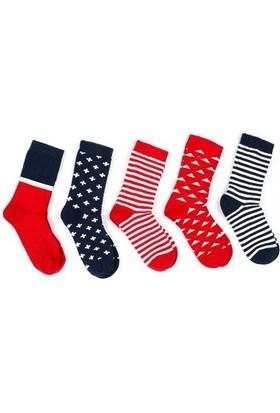 Pixter&Bro Beşli Soket Çorap Set