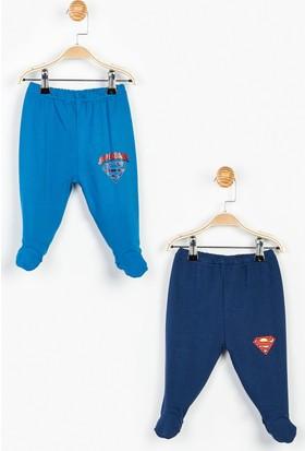 Superman Bebek 2'li Patikli Alt 12836