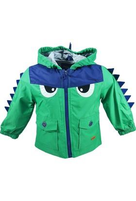 Midimod Erkek Çocuk Yağmurluk Mont Dinozor Midimod