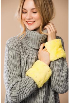 Miramar Kadın Kolluk Sarı 10058